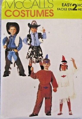 McCalls Pattern M2851 Size 5-6 Costumes Easy 2 Hour Plays Theatre Halloween (5 Easy Halloween Costumes)
