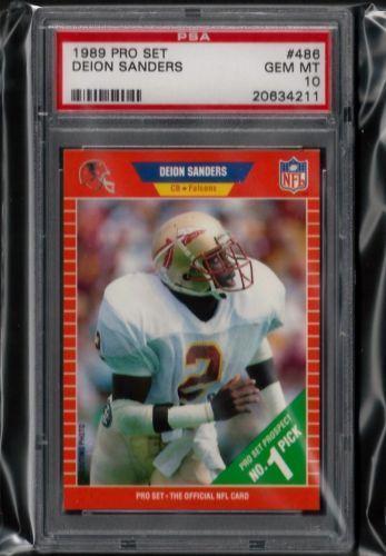 1989 Pro Set Deion Sanders | eBay