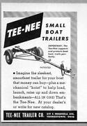 Vintage Boat Trailer