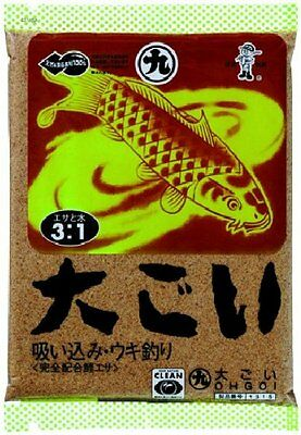 MARUKYU. OH GOI BIG CARP Best seller of carp bait