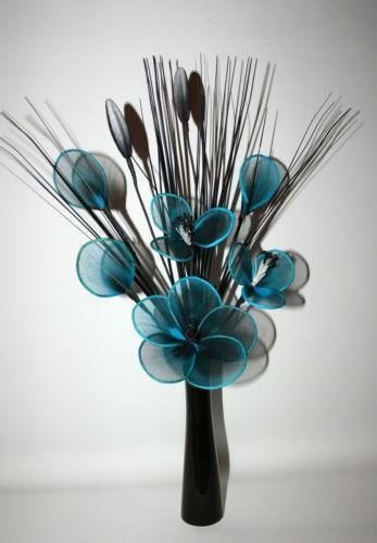 Teal Artificial Flowers Ebay