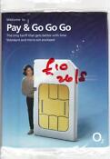 O2 Sim Card with Credit