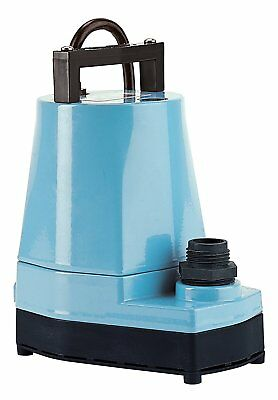 Little Giant 5 Msp 1 6 Hp 1200 Gph Submersible Or Inline Utility Pump   505005