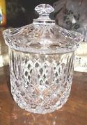 Crystal Candy Dish with Lid