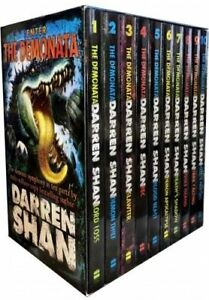 Darren Shan The Demonata 10 Books Collection Pack Set Brand New