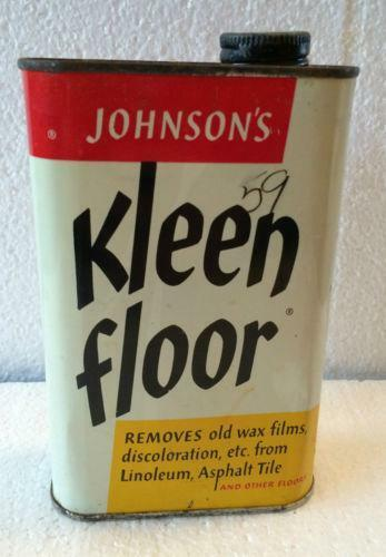 Vintage Johnson Wax Advertising Ebay