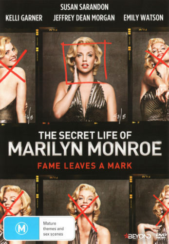 The SECRET LIFE Of MARILYN MONROE DVD BRAND NEW RELEASE TV SERIES BIOGRAPHY R4
