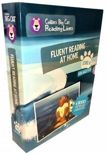 Collins Big Cat Reading Lions - Level 6: Fluent Reading at Home 6 books set