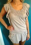 Miss Selfridge Top Size 6