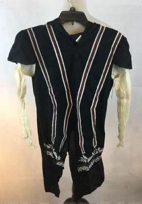 Assassin's Creed Ezio Auditore Costume Teen Large TUNIC ONLY NWT Hooded 1 Piece - Ezio Black Costume