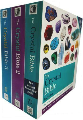 The Crystal Bible Vol 1-3 Collection 3 Books Set By Judy Hall | Judy Hall NEW