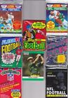 Lot of Unopened Football Cards