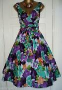 Floral Rockabilly Dress