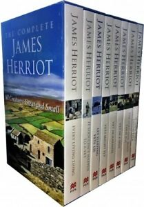 Complete James Herriot Box Set 1-8 (Vet in a Spin) 8 Books Collection Set NEW