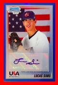 2010 Bowman Chrome USA Auto