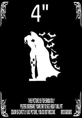 BATMAN HARLEY QUINN VINYL DECAL CAR TRUCK WALL LAPTOP STICKER DECALS WHITE - Harley Quinn Decal