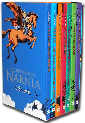The Chronicles of Narnia 7 Books Box Set Collection C S Lewis Vol 1 to 7 NEW set for sale  Shipping to Canada