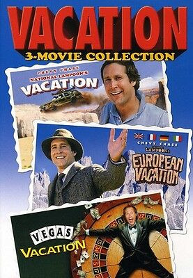National Lampoons Vacation 3 Movie Collection  3 Di Dvd Region 1