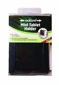 Rockland Tablet Holder (Mini) : Attaches to headrest : Brand new and unopened