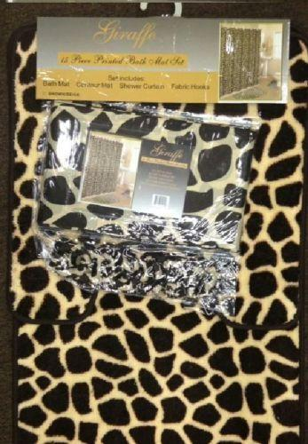 Leopard Bath Rug Ebay