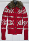 Red Size XL Cardigan Sweaters (Sizes 4 & Up) for Girls