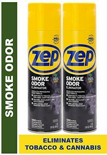 Zep Smoke Odor Eliminator Aero ECZUSOE162 (Pack of 2)-Eliminates Smoke Odor