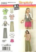 Junior Sewing Patterns