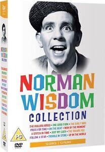 ❏ Norman Wisdom + BONUS EXTRA Complete Series Collection Seasons DVD Box Set ❏