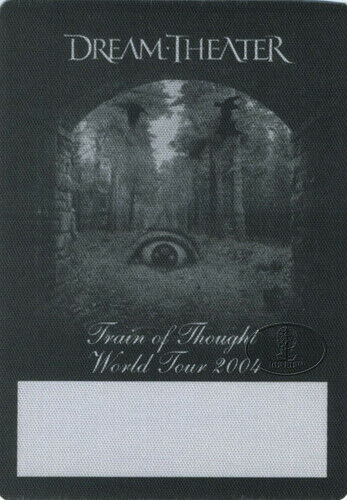 DREAM THEATER 2004 Backstage Pass ALL ACCESS