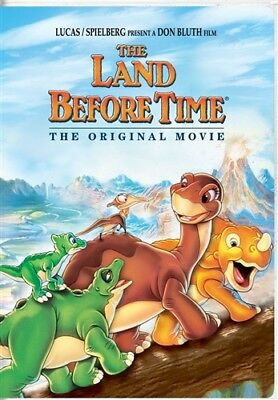 THE LAND BEFORE TIME THE ORIGINAL MOVIE New Sealed DVD