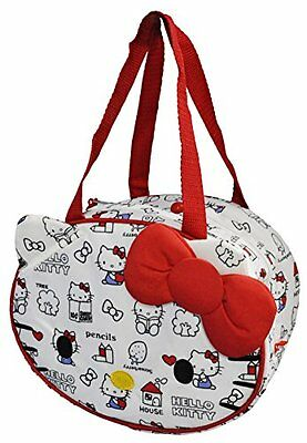 Skater Hello Kitty die-cut Cooler lunch bag Sanrio KDLB1