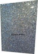 Silver Glitter Card
