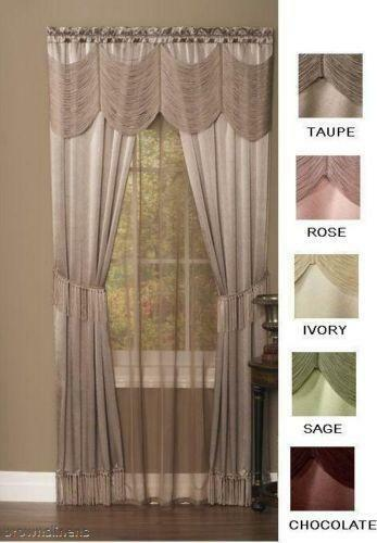 Curtains Ideas austrian valances curtains : Austrian Curtains | eBay