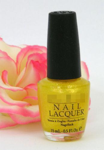 OPI Gold Glitter Nail Polish | eBay