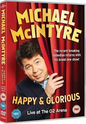 Michael McIntyre: Happy and Glorious DVD New & Sealed SC1 ()