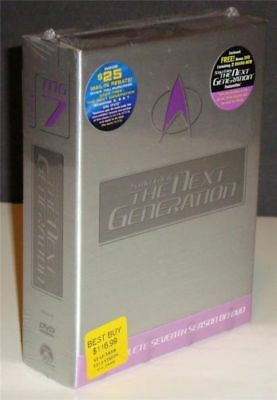NEW Star Trek: The Next Generation - Season 7 (DVD) Sealed + Best Buy Bonus