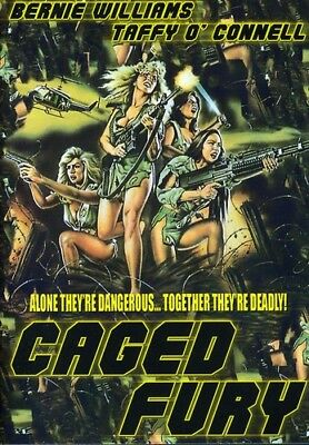 Caged Fury [New DVD]