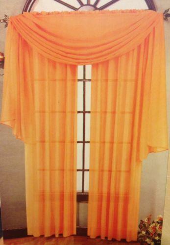 Orange Valance Ebay