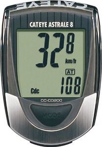 Cateye Astrale 8 Bike Computer with Cadence