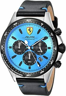 Scuderia Ferrari Pilota Chronograph Watch 0830388 Brand New