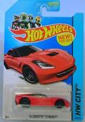 Hotwheels Corvette Stingray