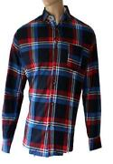 Mens Checked Shirt Flannel