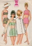 Vintage Swimsuit Pattern