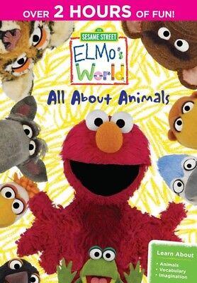 Sesame Street - Sesame Street - Elmo's World: All About Animals [New DVD]