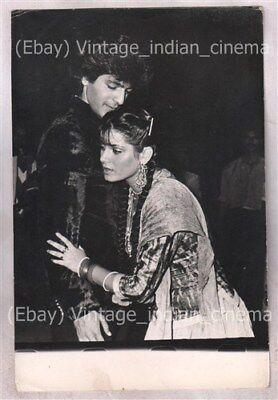 Original Bollywood photo Chunky pandey-Neelam In Ghar ka chirag 1989 11cmX16cm