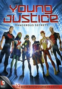 Young Justice: Dangerous Secrets [2 Discs] [DVD NEW]
