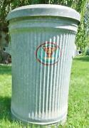 Antique Trash Can