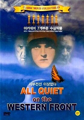 All Quiet on the Western Front (1930) New Sealed DVD Lew Ayres