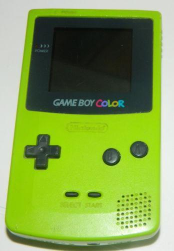 Gameboy Color Green Video Game Consoles Ebay Gameboy Color