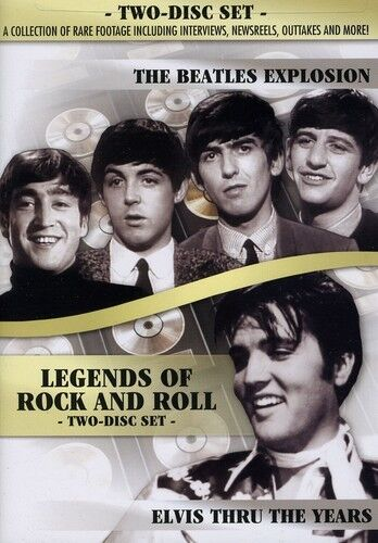 Legends of Rock and Roll: The Beatles Explosion/Elvis Thru the Y (2011, DVD NEW)
